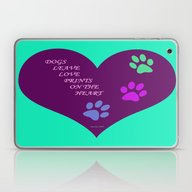 Dogs Leave Love Prints O… Laptop & iPad Skin