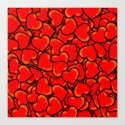 Hearts. Canvas Print