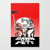 Dawn of the Fett Canvas Print