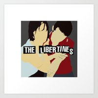 The Libertines Digital P… Art Print