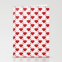Hearts Galore! Stationery Cards
