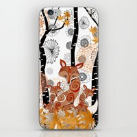 HELLO FOXY iPhone & iPod Skin