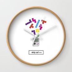 game ad Wall Clock