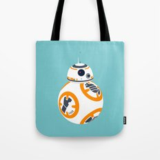 BB8 Blue Tote Bag
