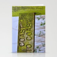 The Coast to Coast Stationery Cards
