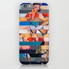 Glitch Pin-Up: Olivia Slim Case iPhone 6s