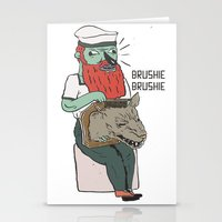 Brushie Brushie Stationery Cards