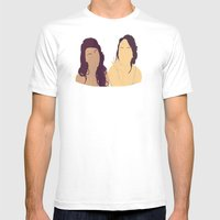 They Always Know Mens Fitted Tee White SMALL