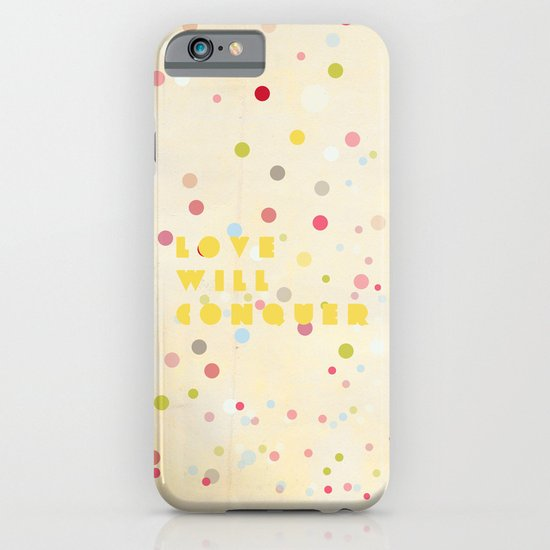 Love will conquer iPhone & iPod Case
