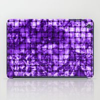 Purple Satin Weave Effec… iPad Case
