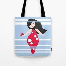 flourish in the fog Tote Bag