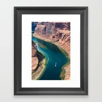 Well, Sit Right Down My … Framed Art Print