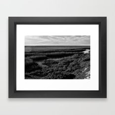 Ojo de Liebre Lagoon Framed Art Print
