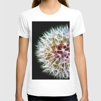 fractal T-shirts featuring Fractal dandelion by Mark Nelson