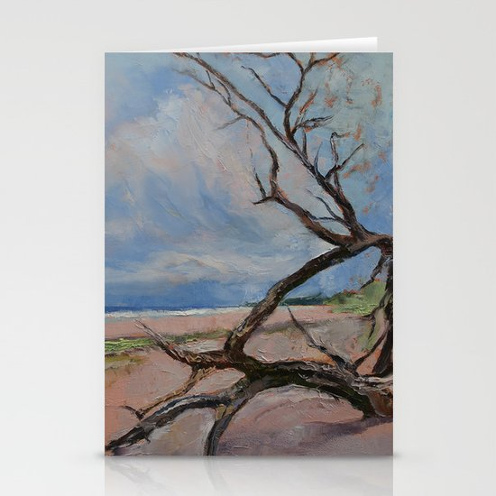 Driftwood Stationery Card