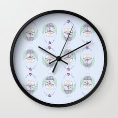 lollipop cat Wall Clock