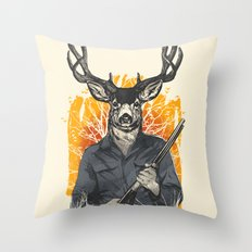 Hunting Season Throw Pillow