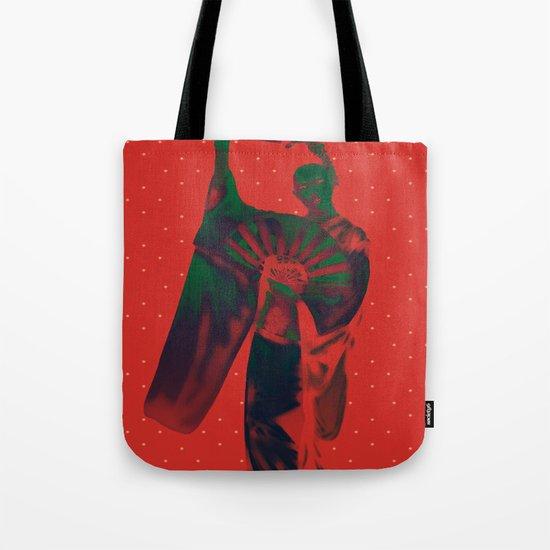 Geisha Snow Tote Bag