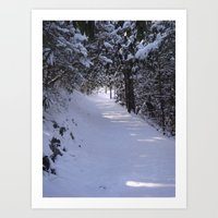 ROADLESSTRAVELED Art Print