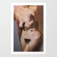 torso cut Art Print
