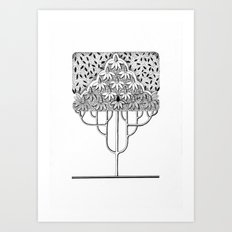 Tree Collection -3 Art Print