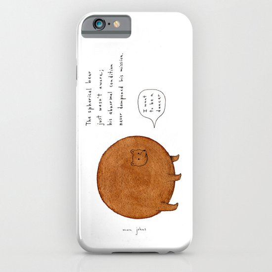 the spherical bear iPhone & iPod Case