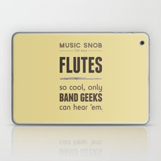 MORE Flutes — Music Sn… Laptop & iPad Skin