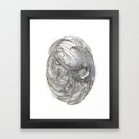 A Descent into the Maelstrom Framed Art Print