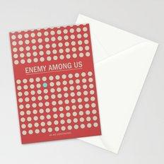 Enemy Among Us I Stationery Cards