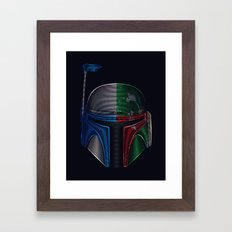 Star . Wars - Jango Fett & Boba Fett Framed Art Print