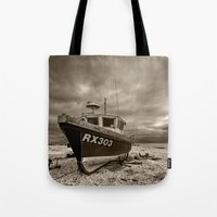 Dark Dungeness Tote Bag