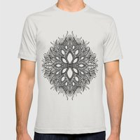 plant Mens Fitted Tee Silver SMALL