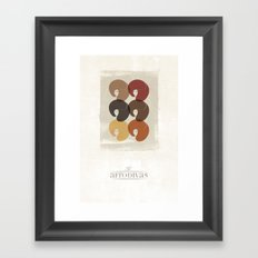The Afro Divas Framed Art Print