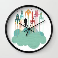 Grand Départ (graphic V… Wall Clock