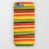 Pattern Doodle (Yellow) iPhone 6 Slim Case