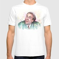 Nicolas Cage You Don't Say Mens Fitted Tee White SMALL
