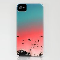 iPhone 4s & iPhone 4 Cases featuring Birds Flying High by Ben Geiger