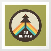 For The Love Of The Fore… Art Print