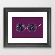 WindGlasses Framed Art Print