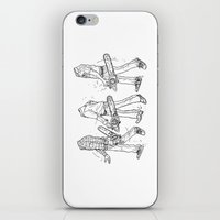 TERA MELOS - Chainsaw Me… iPhone & iPod Skin