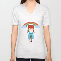 Dorothy Wizard Of Oz Unisex V-Neck