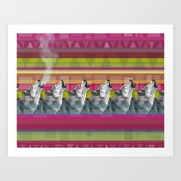 Wolves -SM Art Print