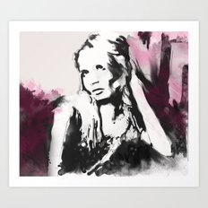 Sitting Pretty Art Print