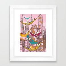 Relaxing Summer Framed Art Print