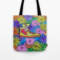 SNEAKER OF PEACE AND LOV… Tote Bag