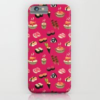 Pink Sushi iPhone 6 Slim Case
