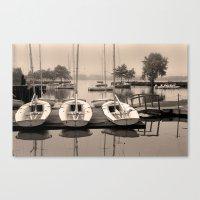 Charles Boats Canvas Print