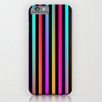 Neon Stripes iPhone 6 Slim Case