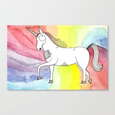 Unicorn of love Canvas Print