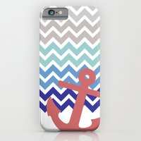 iPhone & iPod Case featuring Nautical  by emain